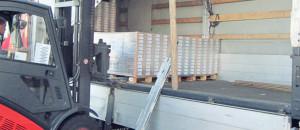 Перевалка груза на нашем складе Transkom