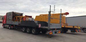 Доставка негабаритных грузов. Автомобильные грузоперевозки