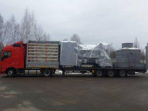 Доставка негабаритных и проектных грузов из Европы