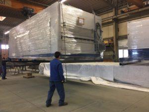 Транспортировка негабаритного оборудования из Европы