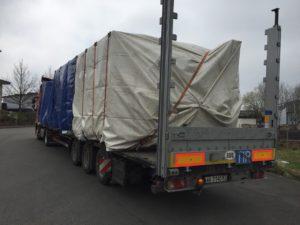 Траспортировка оборудования из Германии