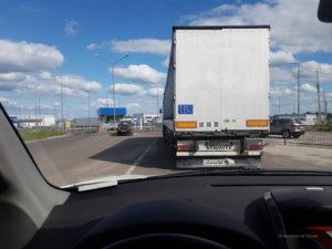 Der Transport ukrainischer Waren durch die Russische Föderation ist gestattet